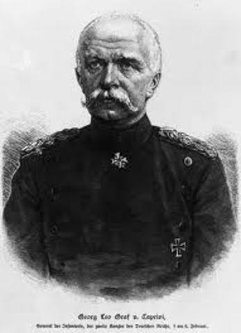 Dimisión de Bismarck como canciller de Alemania