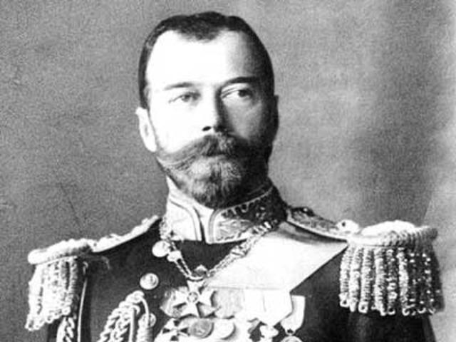 Tsar Nicholas Abdicates