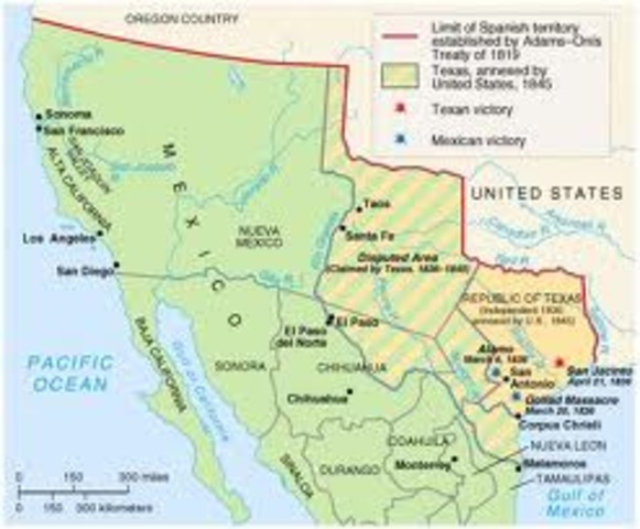 mexican american war timeline The battles of the mexican–american war include all major engagements and  most reported skirmishes, including thornton's defeat, the battle of palo alto, and .