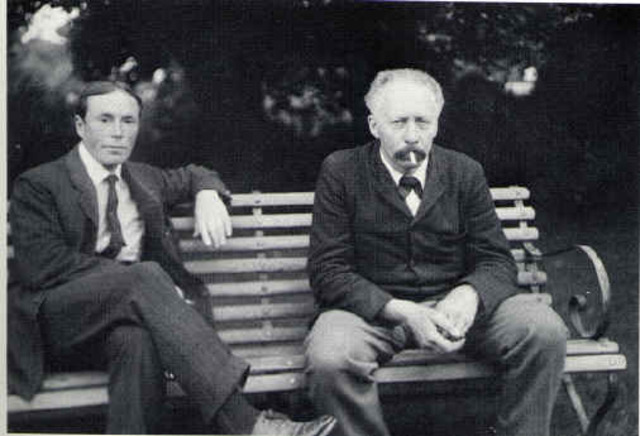 William Bateson and Reginald Punnett