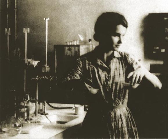 Maurice Wilkins and Rosalind Franklin
