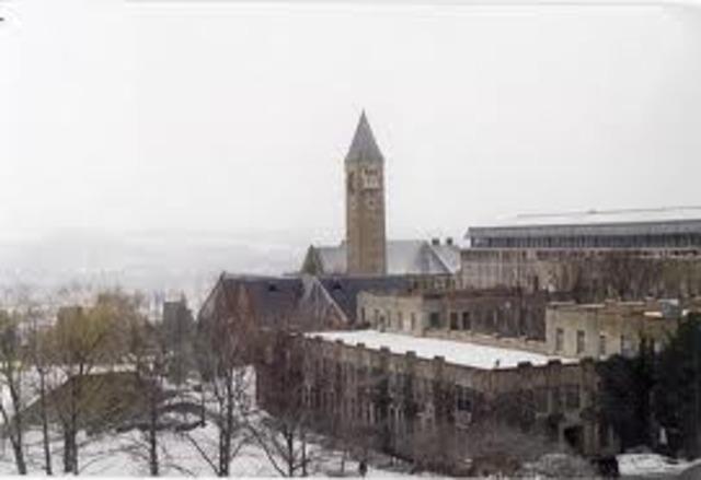 Cornell, let it snow...