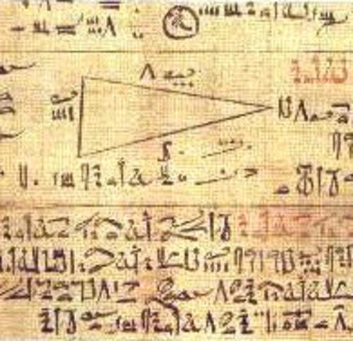 El papiro de ahmes a.C