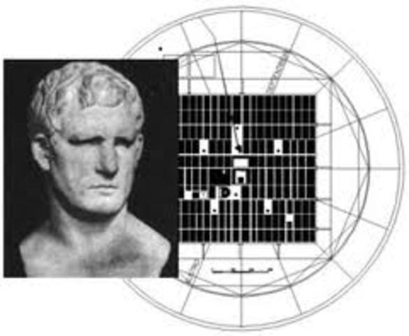 Vitrubrio 30 a.C