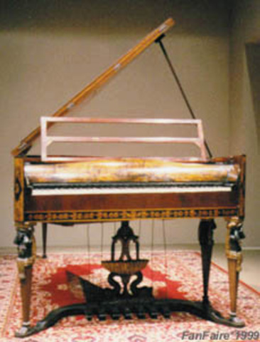 piano of bethovens time