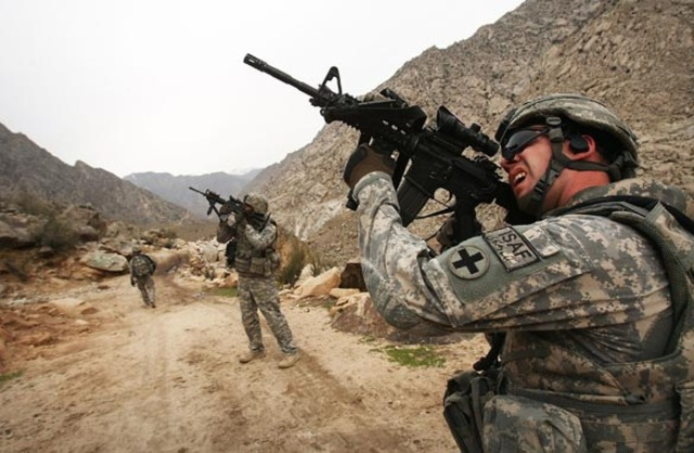 Start of the Afghanistan War