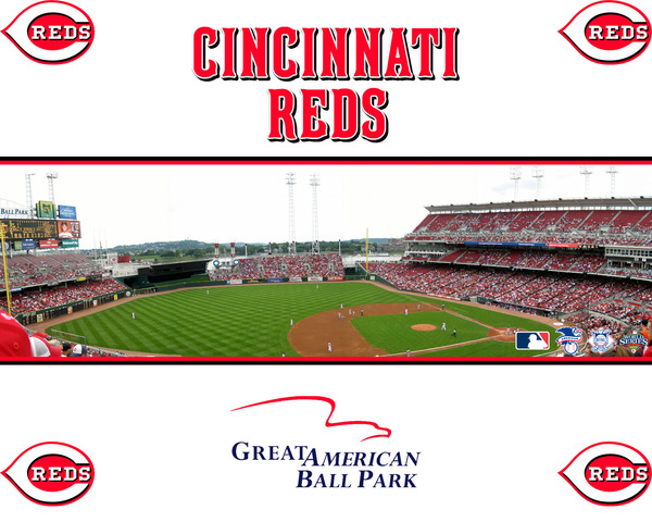 Cincinnati Reds game for Photo Shoot