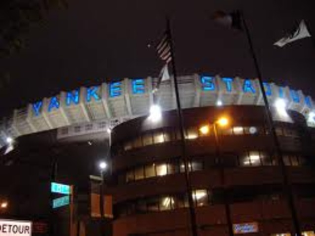Yankee Stadium- New York City