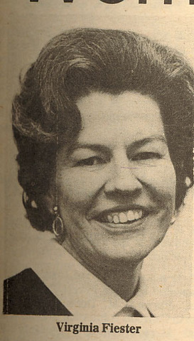 First woman alderman nominee