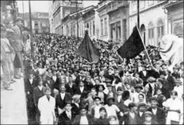Huelga General revolucionaria 1917