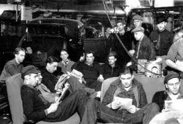 GM Sit-down Strike-1936-1937