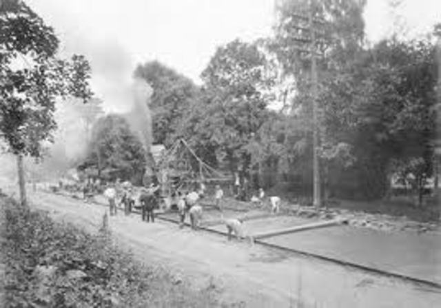 Cumberland Road was started as a program to improve canals, roads, bridges