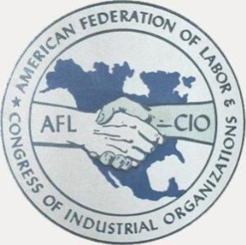 Congress of Industrial Oragnization is formed
