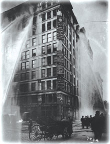 Triangle Shirt Factory Fire