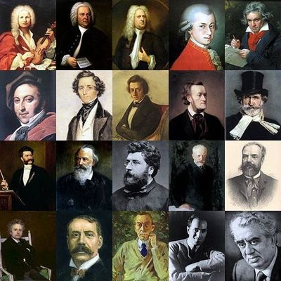 Classical Time Period timeline