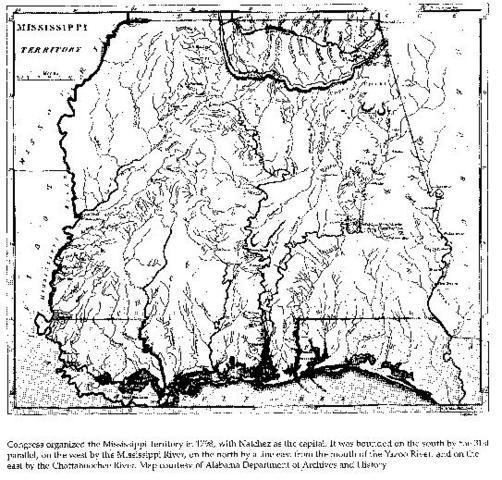 cogress organized the Missouri territory