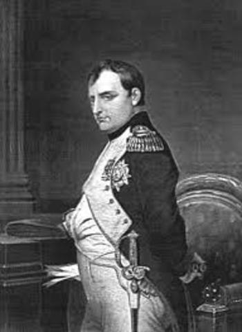 Napolean invaded Russia but had to retreat