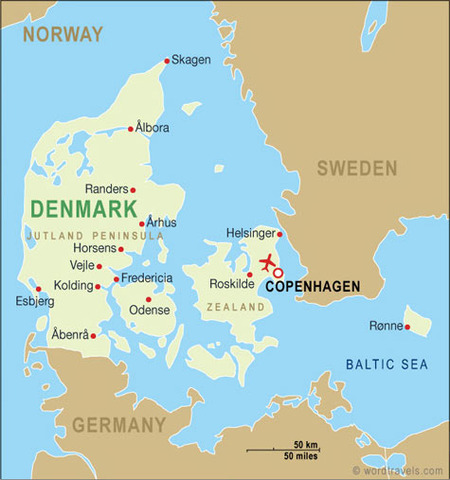 Denmark gave Norway to Sweden