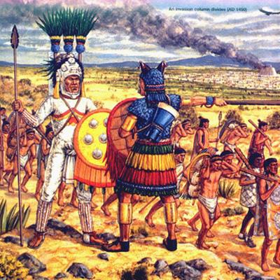 Aztec Invasion timeline