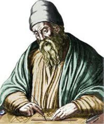 300 a.C. Euclides