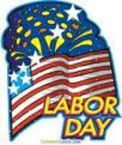 labor day holiday created