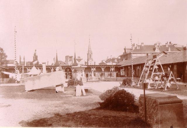 Pavillons de l'Exposition industrielle cantonale