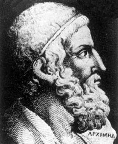 Arquímedes. Notable matemático e inventor griego