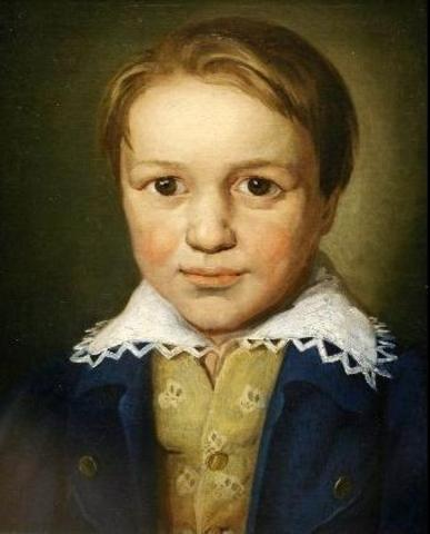 Beethoven Presented as a Music Prodigy.