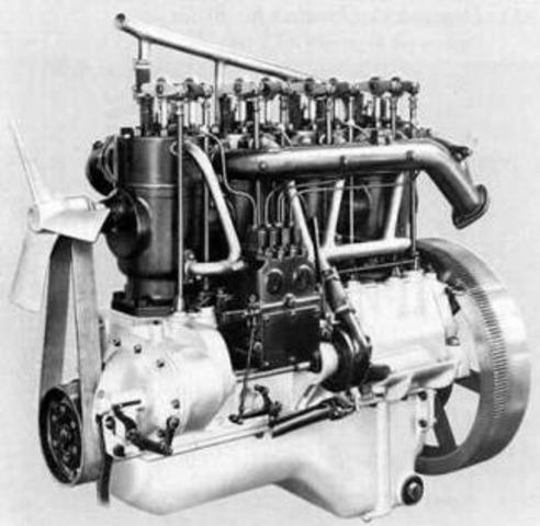 Aparició motor de benzina (combustió interna)