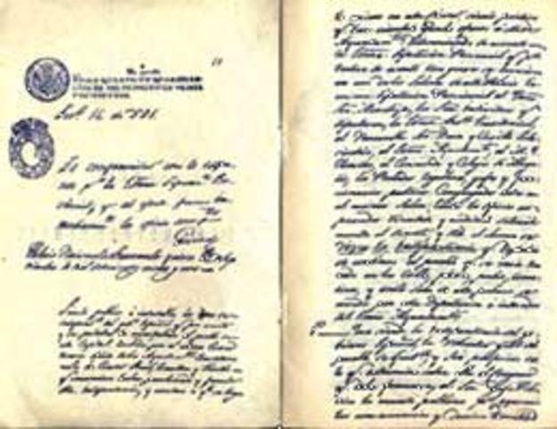 GUATEMALA LIBRE Y SOBERANA1821