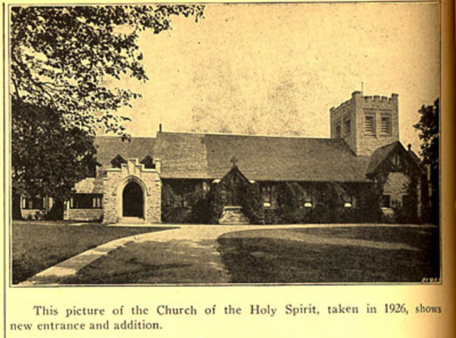 Church of the Holy Spirit addition