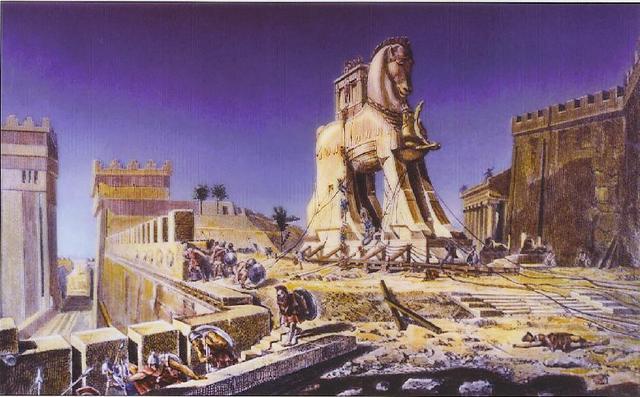 what did odysseus do in the trojan war