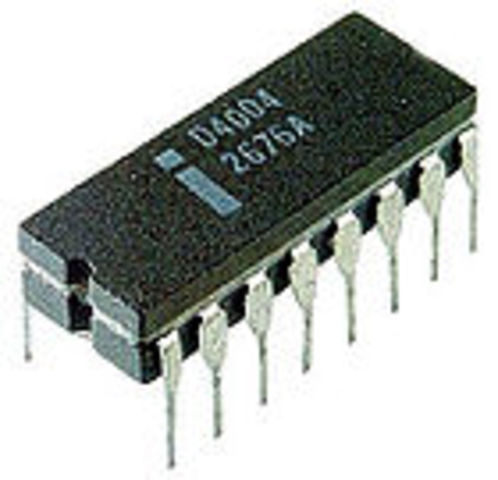 Aparició del primer microprocessador