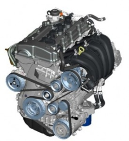 Primer motor de benzina