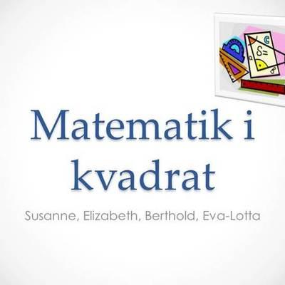 Matematik i kvadrat timeline