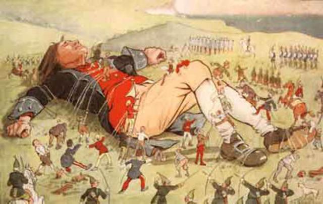 Els viatges d'en Gulliver