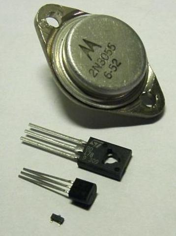 Aparicio del transistor