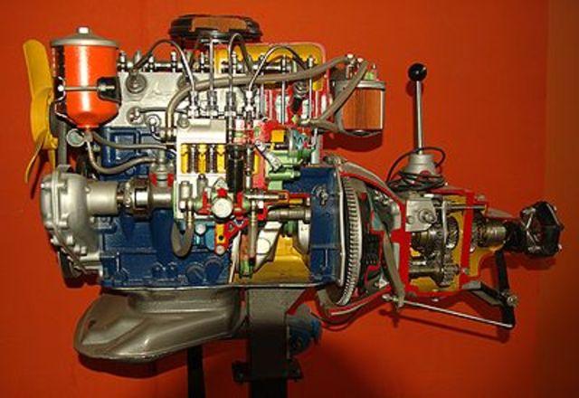 Aparicio del motor dièsel.