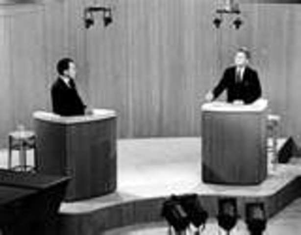 Debate with Richard Nixon