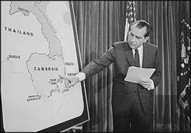 richard nixon ended the vietnam war by dropping bombs in cambodia A summary of nixon and vietnamization: 1969–1975 in history sparknotes's the vietnam war (1945–1975) learn exactly what happened in this chapter, scene, or section of the vietnam war (1945–1975) and what it means perfect for acing essays, tests, and quizzes, as well as for writing lesson plans.