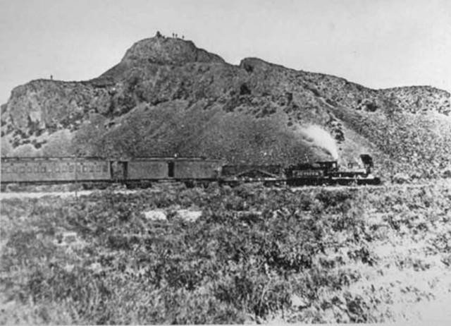 Primer ferrocarril al món