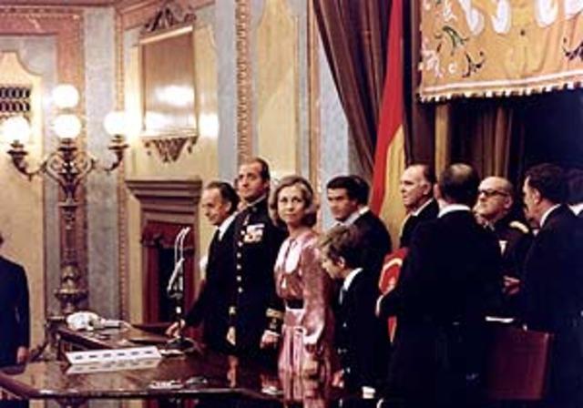 Arribada de la democràcia a Espanya