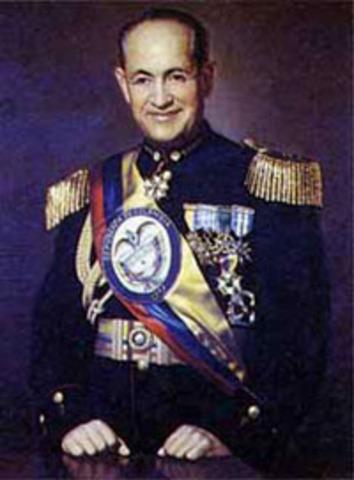La dictadura militrar de Rojas Pinilla