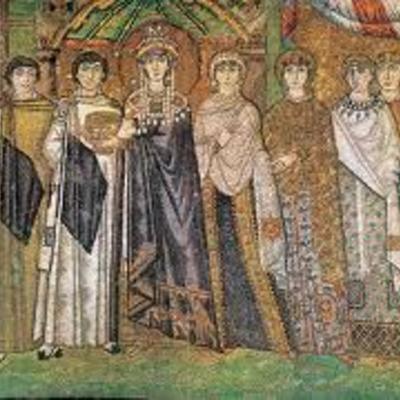 Línea del tiempo del imperio bizantino. timeline