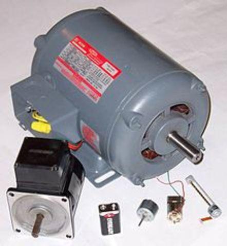 Aparició dels motors elèctrics