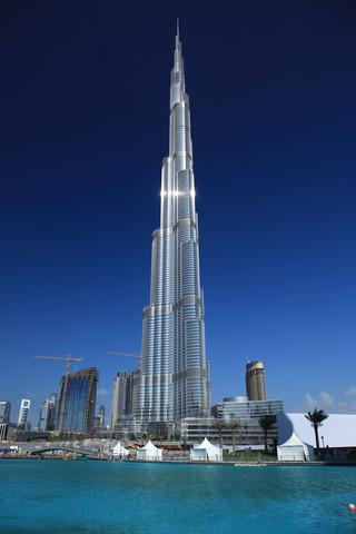 Burj Kalifa opening