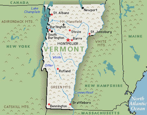 Vermont legalizes equality for Homosexuals