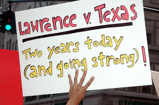 Lawrence vs. Texas