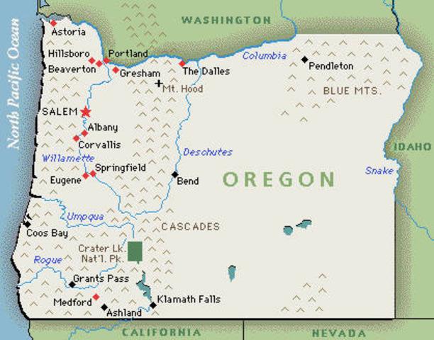 Oregon passes Same-sex marriage
