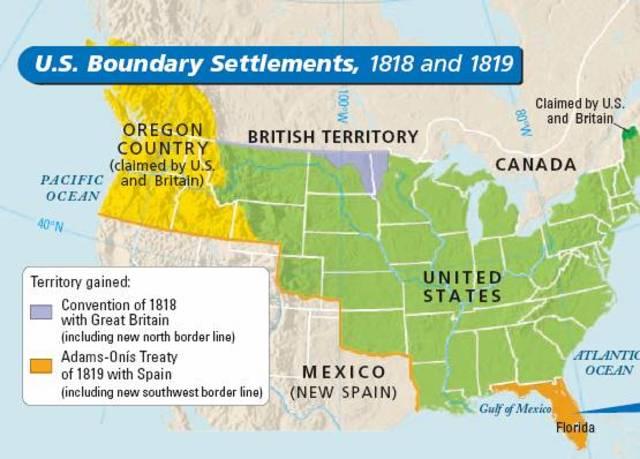 Rush-Bagot Treaty/Treaty of 1818